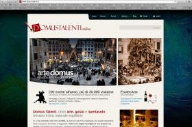 Domus Talenti Site Redesign
